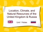 United Kingdom and Russia Notes on PowerPoint