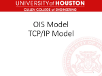 OIS Model TCP/IP