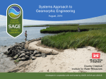SAGE - Center for Coastal Resources Management