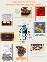 Poster to Explain Roomba robot (*)