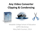 Any Video Converter Clipping Presentation