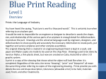 Blue Print Reading Level 1