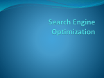 Search Engine Optimization (7/19/2011)