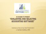 Eliminate The Guesswork ERP and Accounting Software Comparison