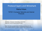 Wireshark and Protocol layers