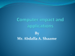 Computer impact and applications