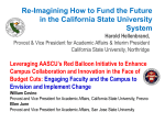 Fresno State*s Red Balloon Initiative AASCU*s Transforming