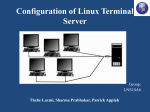 Configuring Linux Terminal Server Project