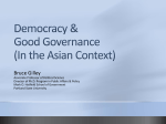 Democracy and Good Governance - Office of Information Technology