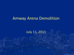 Amway Arena Demo. Agree. C-11 - 8-29-2011