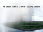 The Stock Market Game