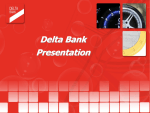 Presentation Delta Bank 3 rd Quarter 2013