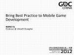 the Best Practices to Build Multi-platform Games by