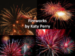 Fireworks by Katy Perry