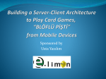 Building a Server-Client Architecture to Play Card Games, BLÖFLÜ