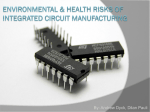 Environmental Cost of Integrated Circuit Manufacturing