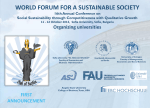 world forum for sustainable society