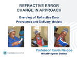 refractive error - International Agency for the Prevention of Blindness