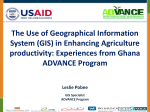 Enhancing agriculture productivity through GI