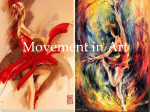 Artists showing movement in Art