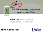 FOCUS: Clustering Crowdsourced Videos by Line-of-Sight