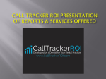Call Tracker ROI updated presentation slides