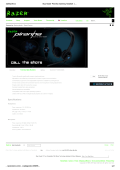 (Buy Razer Piranha Gaming headset | Official Razer\231 Store)