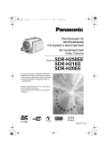 Panasonic SDR-H21 Camcorder User Guide Manual Operating