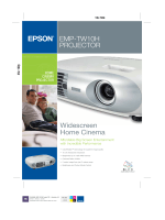 EMP-TW10H PROJECTOR Widescreen Home