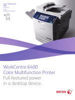 Xerox WorkCentre 6400 Color Multifunction Printer