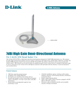 7dBi High Gain Omni-Directional Antenna - D-Link