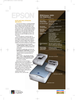 EPSON Perfection 1640SU - Epson America, Inc.