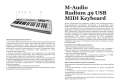 M-Audio Radium 49 USB MIDI Keyboard
