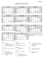 holland christian schools tentative calendar for 2014