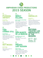 2015 SEASON - Amphibian Stage Productions