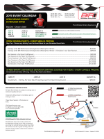 2015 EVENT CALENDAR - BIR Performance Driving School