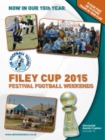 FILEY CUP 2015 - UK Football Tours
