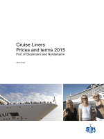 Cruise Liners Prices and terms 2015