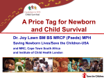 The price tag for newborn and child survival