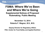 Presentation - Food and Drug Administration