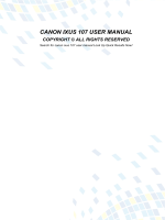 CANON IXUS 107 USER MANUAL