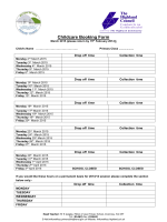 Booking form March 2015