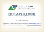 Policy Changes and Trends (PPT by CDE)