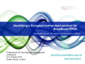 Identifying a European harmonised solution for Broadband