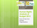 Human Right Analysis of Budget 2015