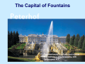 The Capital of Fountains