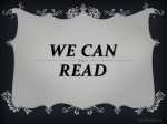 2 cl We can read