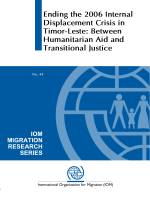 276.Ending the 2006 Internal Displacement Crisis in Timor-Leste