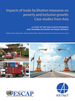 288.Impacts of trade facilitation measures on poverty and inclusive growth