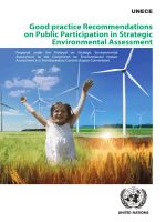 1015.Good Practice Recommendations on Public Participation in Strategic Environmental Assessment